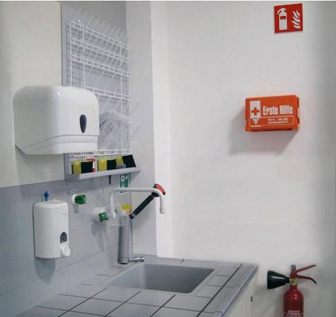 Hygienische Einrichtungen