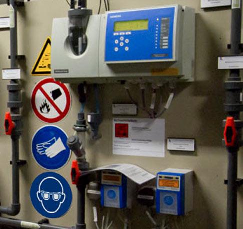 Hypochlorit - Anlagen und Behälter
