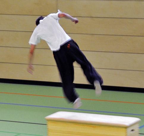 Prävention von Schulsportunfällen