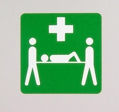 Raum für Erste Hilfe
