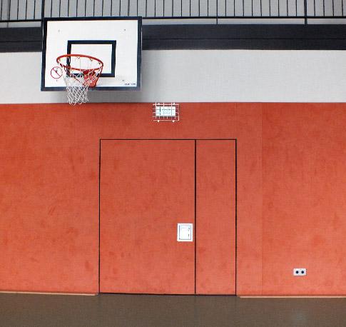 Wände und Prallschutz