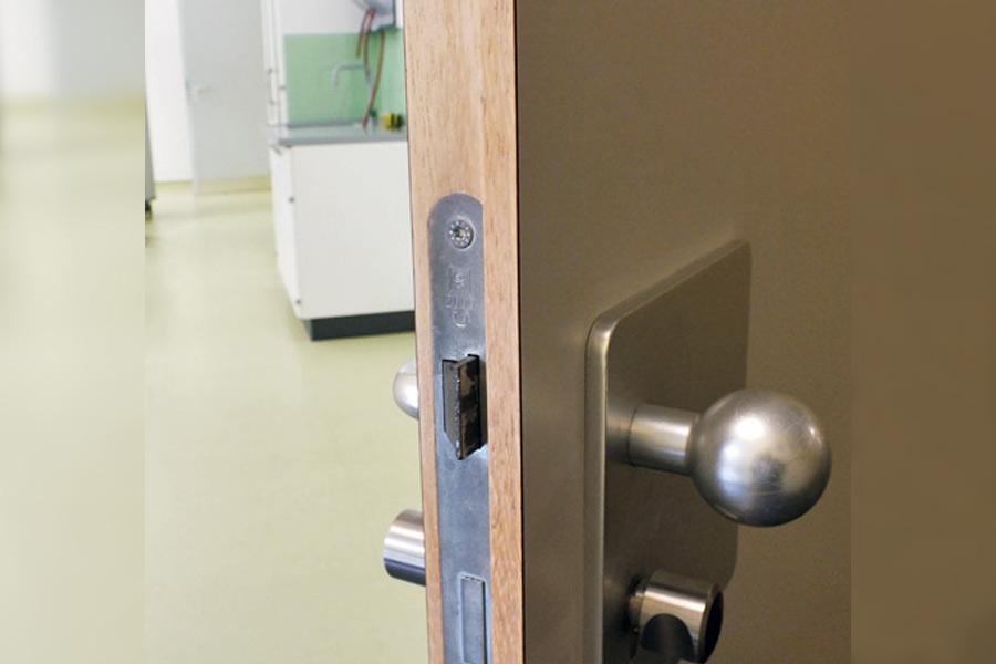 Sicherheit in Fachräumen